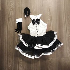 Revolution Dance Wear costume tuxedo dress sz 6